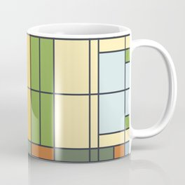 Stained glass pattern S01 Coffee Mug