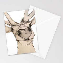 Nosey Deer Stationery Cards