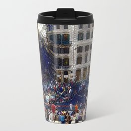 The Spanish Steps 4138 - Rome, Italy Travel Mug