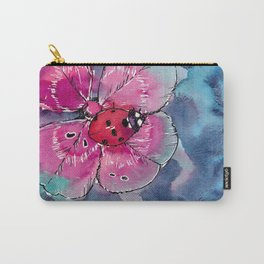 Lucky Ladybug Carry-All Pouch