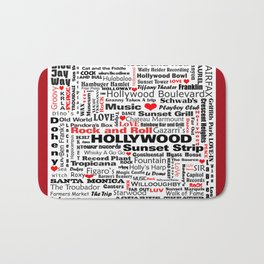 Hollywood Bath Mat