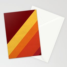 Retro 70s Color Palette II Stationery Cards