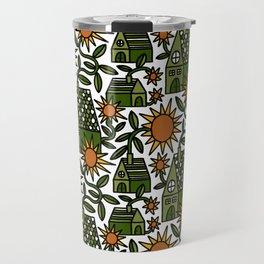 Sunflower City Travel Mug