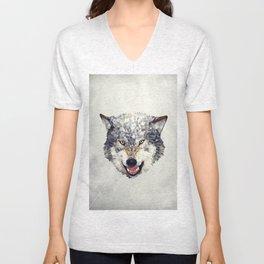 Lobo  Unisex V-Neck