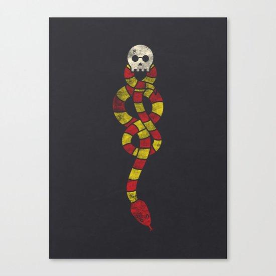 The Scarf Mark Canvas Print