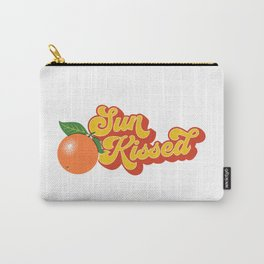 Sun-Kissed Carry-All Pouch