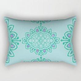 batik mandala Rectangular Pillow
