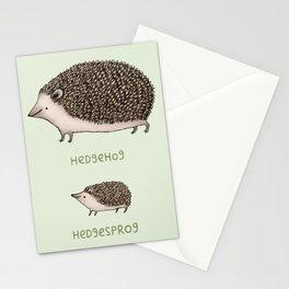 Hedgehog Hedgesprog Stationery Cards