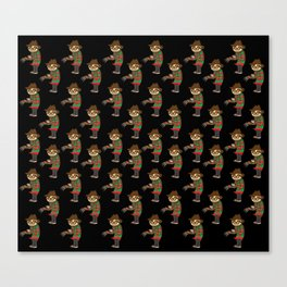 Sloth Freddy Canvas Print