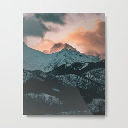 Tatra Mountains, Poland Metal Print