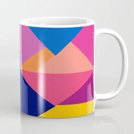 Geometric Color Block Coffee Mug