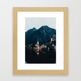 Hallstatt IV Framed Art Print