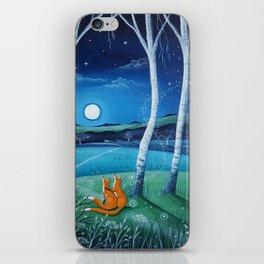 Moon gazers iPhone Skin