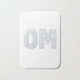 OM - Teal To Purple Palette Bath Mat