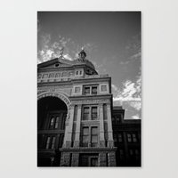 politics Canvas Prints featuring Politics by T & K Arts