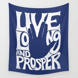 Live Long and Prosper Wall Tapestry
