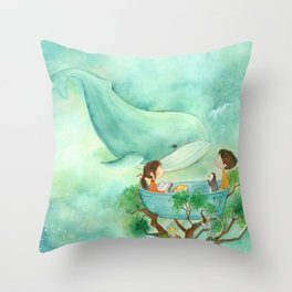 From the Treetops Throw Pillow