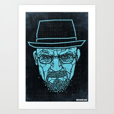 Breaking Bad Poster Art Print