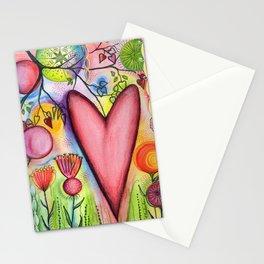 Many Hearts Heal Stationery Cards