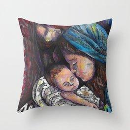 Stille Nacht /Silent Night Throw Pillow