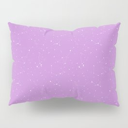 Lavender Night Sky Pillow Sham