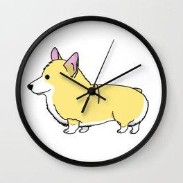 Carl the Cartoon Corgi Wall Clock