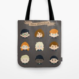 Harry Flatter and Friends Tote Bag