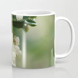 Strawberry Tree Flowering Branch White Flowers Coffee Mug