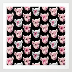 Swine! Art Print