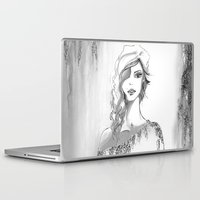 steve mcqueen Laptop & iPad Skins featuring McQueen Inspiration by Lindsey Kate