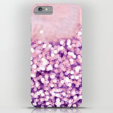 sea of bling - purple iPhone 6 Plus Slim Case