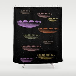 Invasion Force Shower Curtain