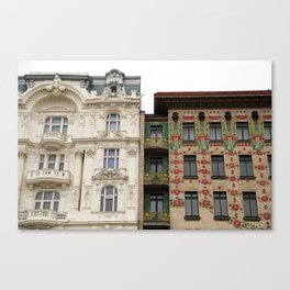 Viennese Art Nouveau Canvas Print
