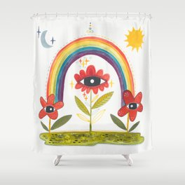 Offshoot Shower Curtain