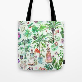 Frida's Garden Tote Bag