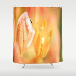 Butterfly Weed and Spider Shower Curtain