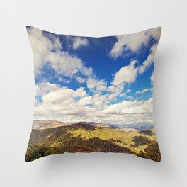 Mountaintop View Throw Pillow