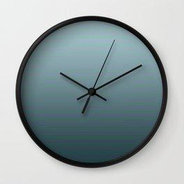 Progressive Stripes Wall Clock