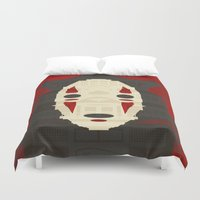 spirited away Duvet Covers featuring Spirited by Danny Haas