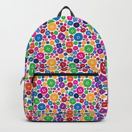 Buttons everywhere Backpack