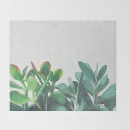 Crassula Group Throw Blanket