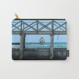 The Framed Pier Carry-All Pouch