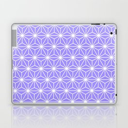 Cold Lilac Geometric Flowers and Florals Isosceles Triangle Laptop & iPad Skin