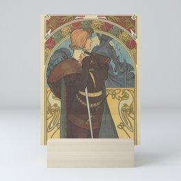 HAMLET Alphonse Mucha Mini Art Print