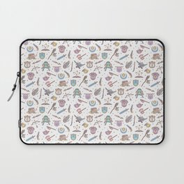 Cute Dungeons and Dragons Pattern Laptop Sleeve