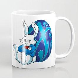 Sleeping Easter Bunny. Coffee Mug