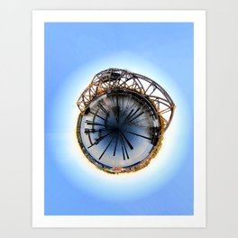 Polar Eye Art Print