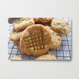 Peanut Butter Cookie Metal Print