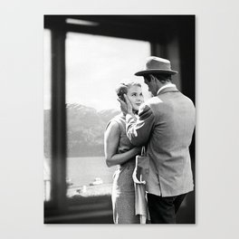 Collage À bout de souffle - Jean Luc Godard (1960) Canvas Print