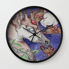 Visions of Extinction Wall Clock